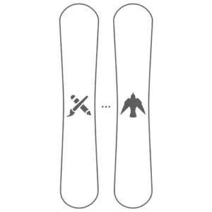 Custom Snowboard Graphics Design Donek Snowboards